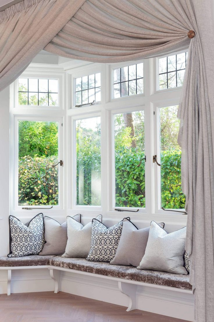 How To Choose The Best Bay Window Curtains Bay Window
