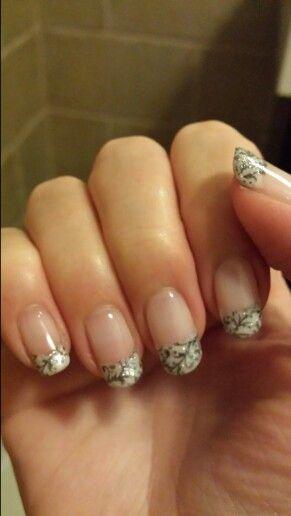 French manicure nail art