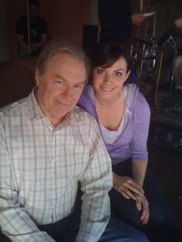 Erica Durance & Michael McKean - smallville Photo