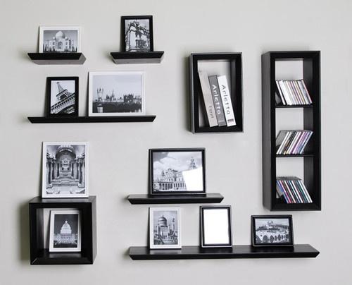 9 best Decor // Floating Cube Shelfs images on Pinterest ...