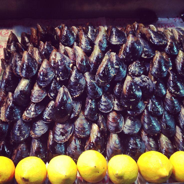 Istanbul, Turkey foodporn. seafood.