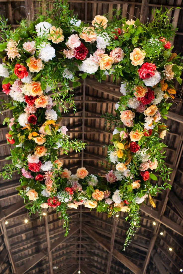Suspended florals for weddings suspended floral arrangements - Suspended Floral Hanging Floral Chandelier The Wedding Story Of Kelly Logan Conner