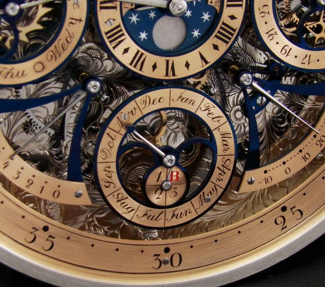 Bexei Tourbillon#2, perpetual calendar Photo credits: Bexei. All registered trademarks are property of their respective owners. All rights reserved.