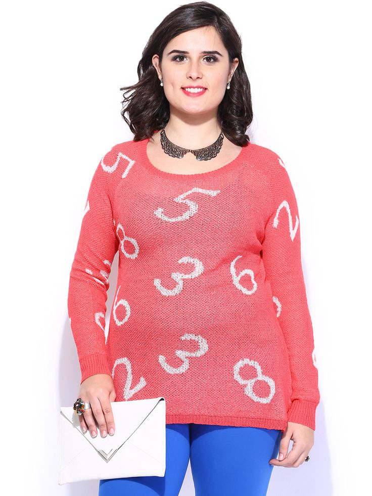 Women-Coral-Pink-Sweater