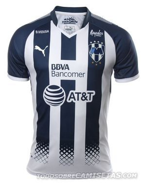 3a7d74956e083 Camiseta local PUMA de Rayados de Monterrey 2017-18