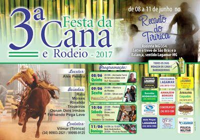 Festas de Carros de Boi e a cultura do sertanejo: Festa da Cana e Rodeio no município de Lagamar - M...