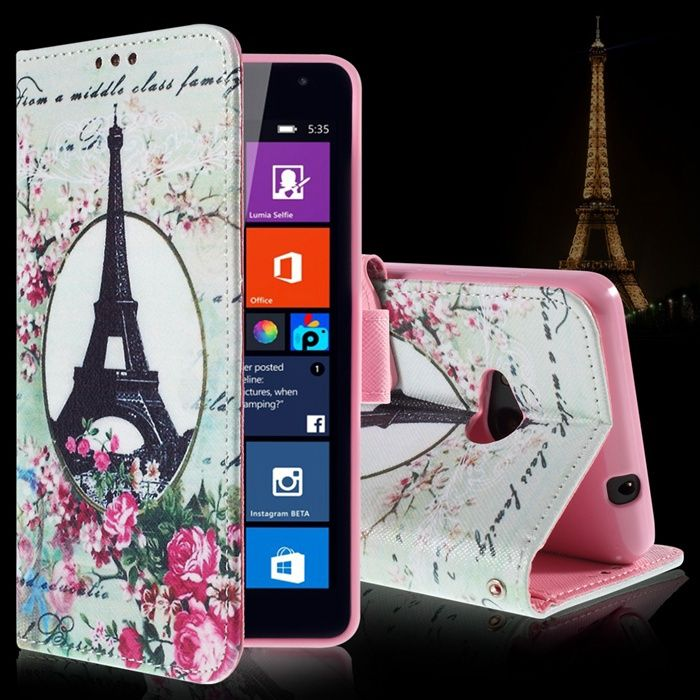 Cheap Phone Bags & Cases, Buy Directly from China Suppliers:       For Microsoft Lumia 535 Case Cartoon Pattern Card Holder Leather Wallet Flip Cover Case For Microsoft Lumia 535 I