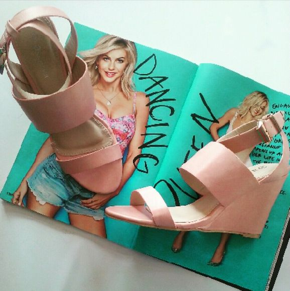 Super cute Rosie pink wedge sandals Brand new Never been worn Comes in original box Many more sizes available  No trades!!! Price is firm!!! Shoes Wedges