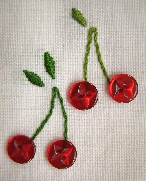 cherries ✿Teresa Restegui http://www.pinterest.com/teretegui/✿