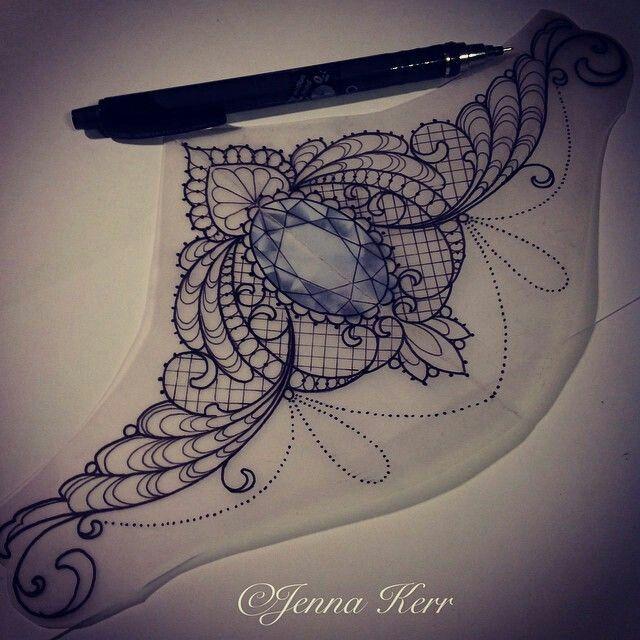 Jewel tattoo