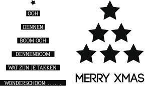 Zwart kerst