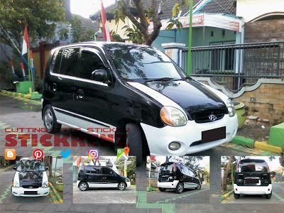 Hyundai AtoZ Black - Custom White Mate Wrap