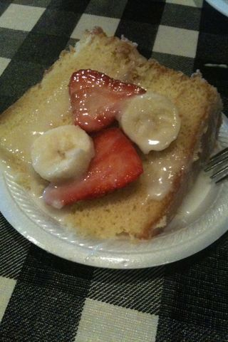 Strawberry Banana Cake Leo