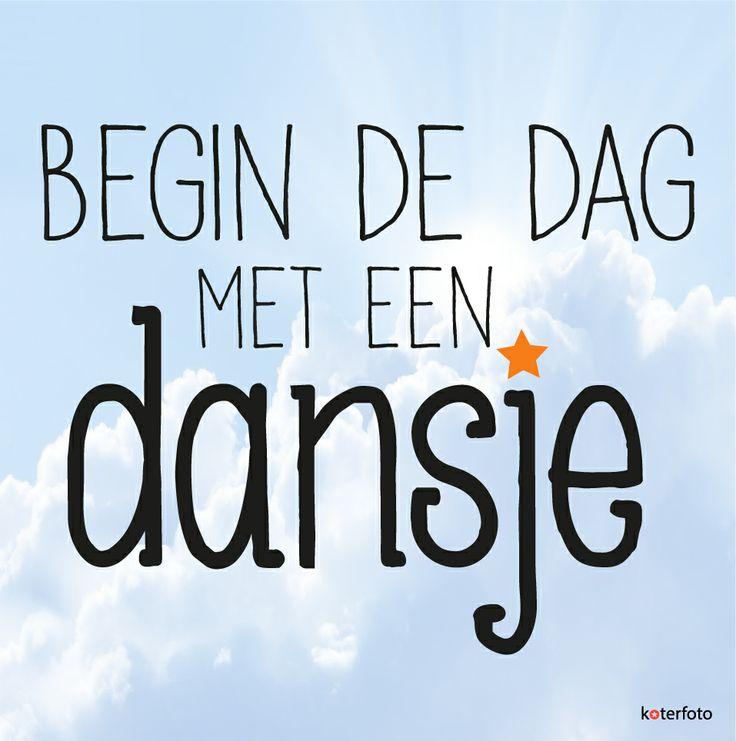Begin de dag met een dansje