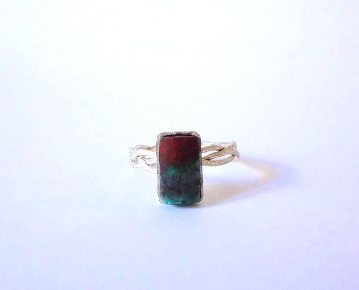 Small Sterling Silver Sonora Sunset Ring by Picossa on Etsy