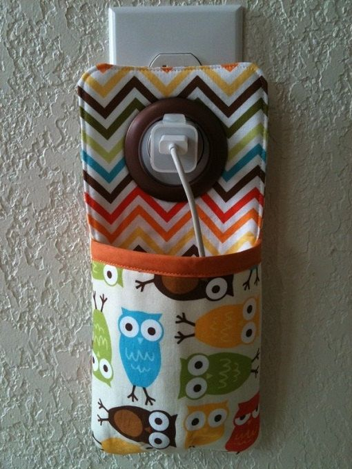 iPhone , iPod Touch, smart phone Docking Station / wall Socket Holder / cell phone charger holder on Etsy, $12.89 CAD