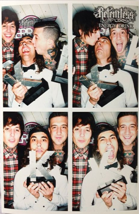 These are literally my three favorite band members, currently anyway. Oh gosh, this makes me happy.