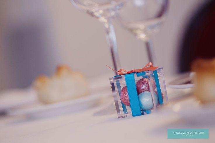 Coloured sugared almonds by Michela & Michela www.italianweddingcompany.com