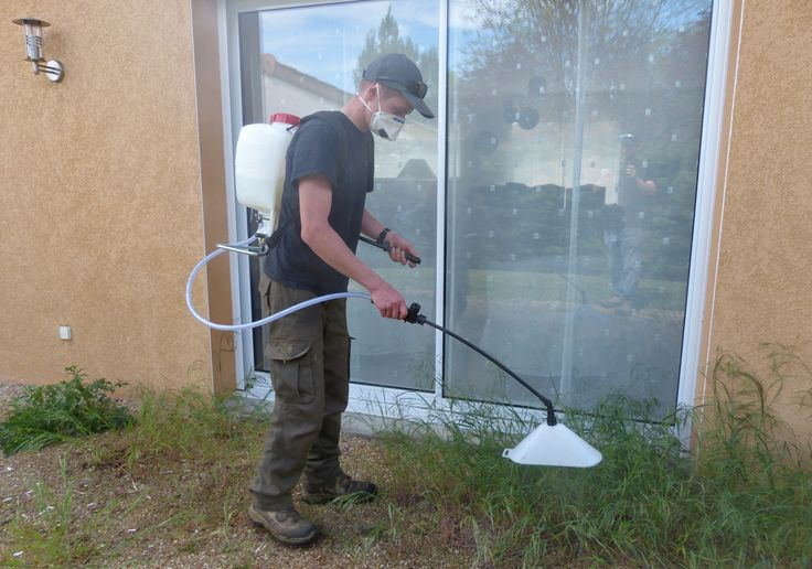 Traitement phytosanitaire d sherbage des all es tony - Desherbage mecanique des allees ...