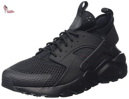 Nike Air Huarache Run Ultra Breathe, Chaussures de Running Entrainement Homme, Noir (Black/Black), 45 EU - Chaussures nike (*Partner-Link)