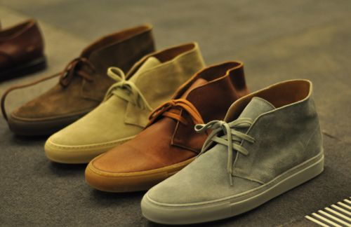 THE FRESH COLLECTIVE   in love with chukkas