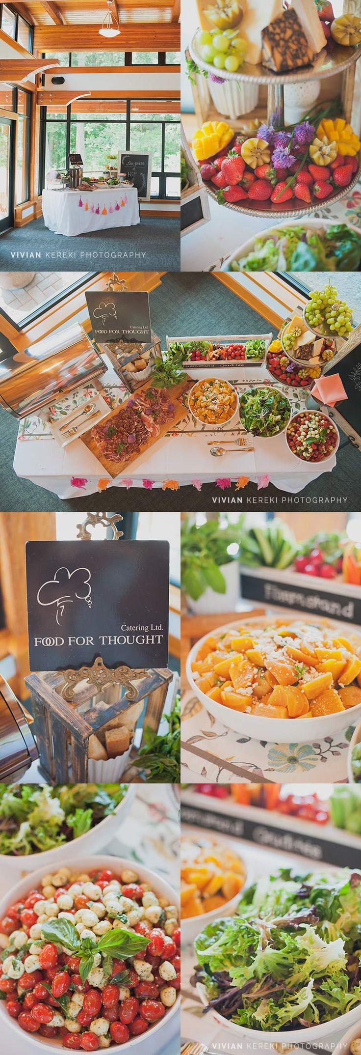 HCP wedding catering crudités