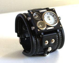 Bracciale di orologio da polso uomo Tuareg-5Steampunk di dganin