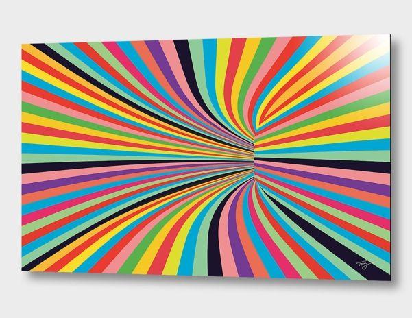 """P.O.V 281a"", Limited Edition Aluminum Print by Tony Digital Art - From $85.00 - Curioos"