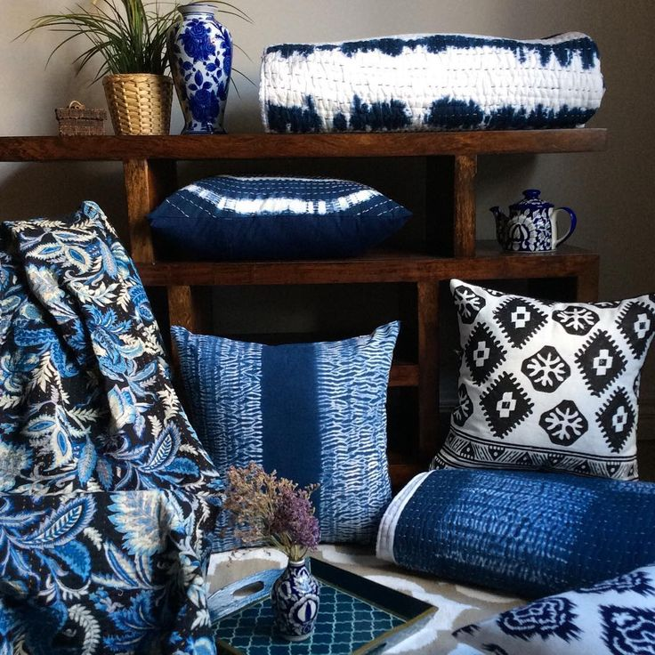 We at Shakiraaz have gone a bit Indigo mad!! So excited to share some of our Indigo wares that have taken so long to get made back in India, but all worth it, very limited quantities as we don't do mass produced, have a look online…