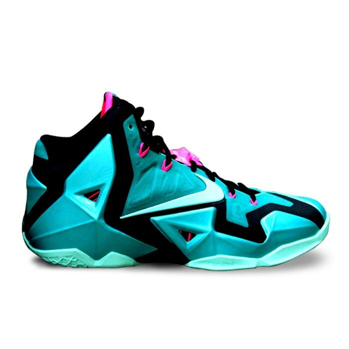 Authentic Lebron 11 South Beach  For Sale Online Free Shipping http://www.blackonshoes.com/nike+lebron/nike+lebron+11