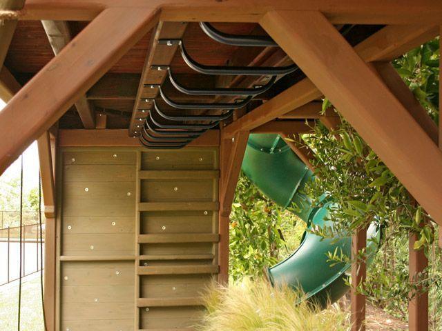 Under Deck Bar : Under the deck monkey bars kid stuff pinterest