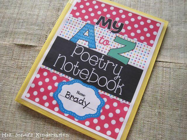 Kindergarten Poetry Book Cover : Best homeschool handwriting letter recognition