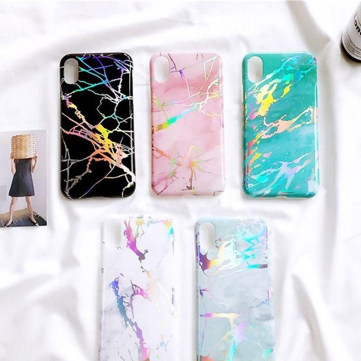 Trendy Colorful Marble iPhone Smartphone Case Granite Design Phone Case #phonecases