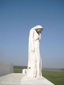 #Vimy Ridge Canadian National Memorial - Mother #Canada mourning her Dead