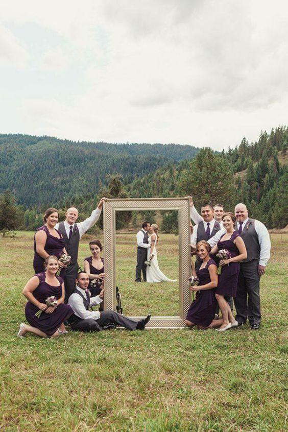 Ein unvergesslicher Tag …. Legen Sie eine Hochzeit auf eine originelle Art fest mit diesen 10 Foto Ideen! - DIY Bastelideen (Diy Art)