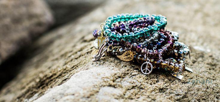 jewellery on the beach, mai copenhagen, beautiful bracelets, product photography