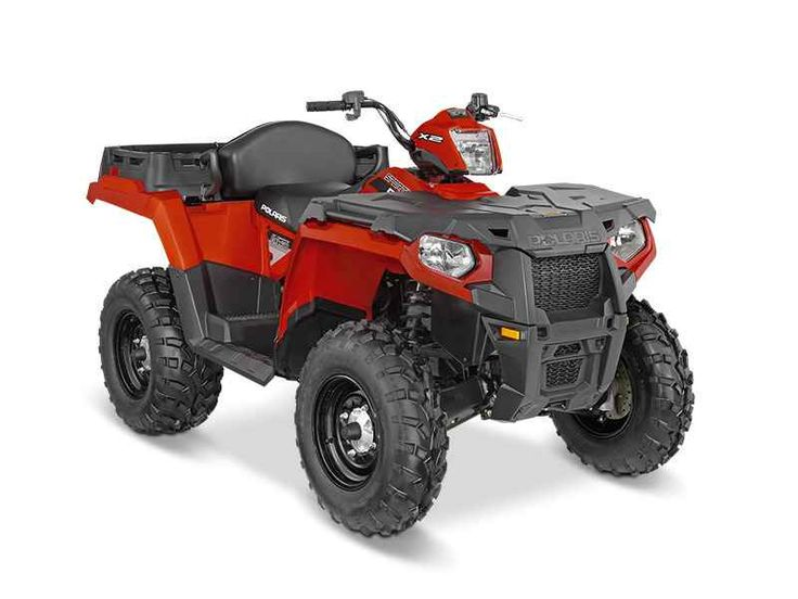 New 2016 Polaris Sportsman X2 570 EPS Indy Red ATVs For Sale in Michigan. 2016 Polaris Sportsman X2 570 EPS Indy Red, Easily switches from 1-up work and trail mode to 2-up trail mode in less than 10 seconds. BUY NOW AND SAVE!!! Versatile 1-up and 2-up configuration Exclusive VersaTrac selectable, locking rear differential Rear dump box with 400 pound capacity
