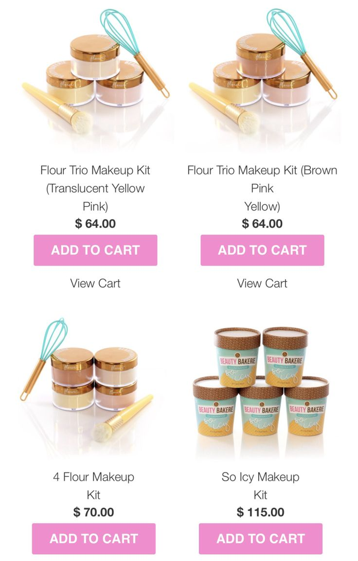 Beauty Bakerie Kits You will want to buy!