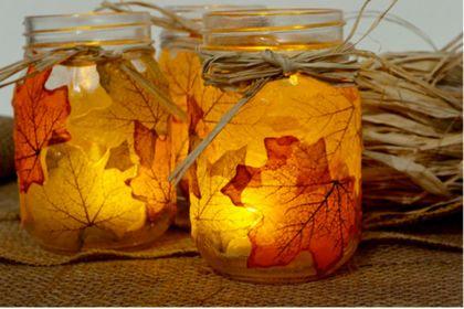 Doe-het-zelf: herfstpotjes