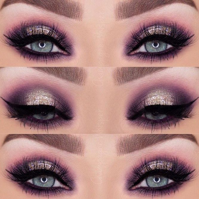 Best Ideas of Makeup for Blue Eyes ★ See more: glaminati.com/… EyeMakeupPur…