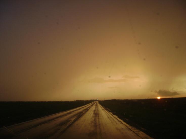 after a nice severe storm; salina, kansas.