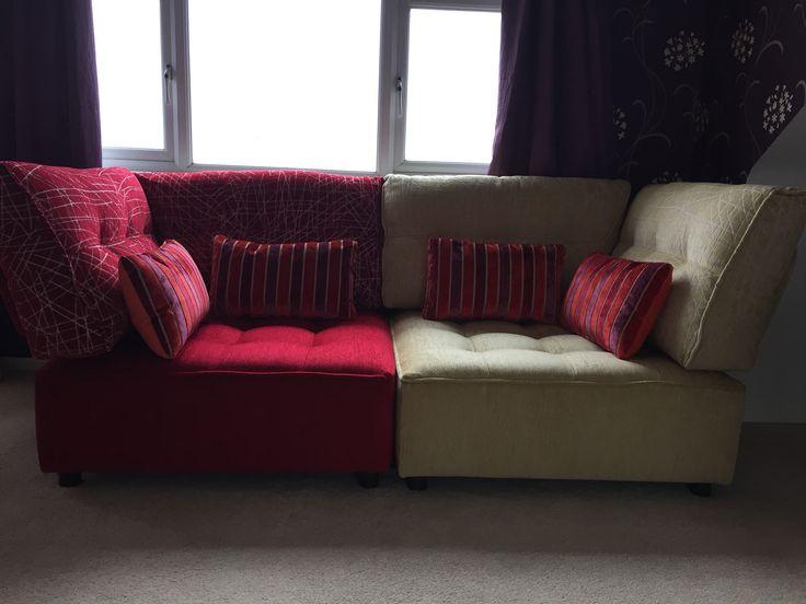 Strong And Striking Tapas Corners To Create A Modern Knole Sofa.