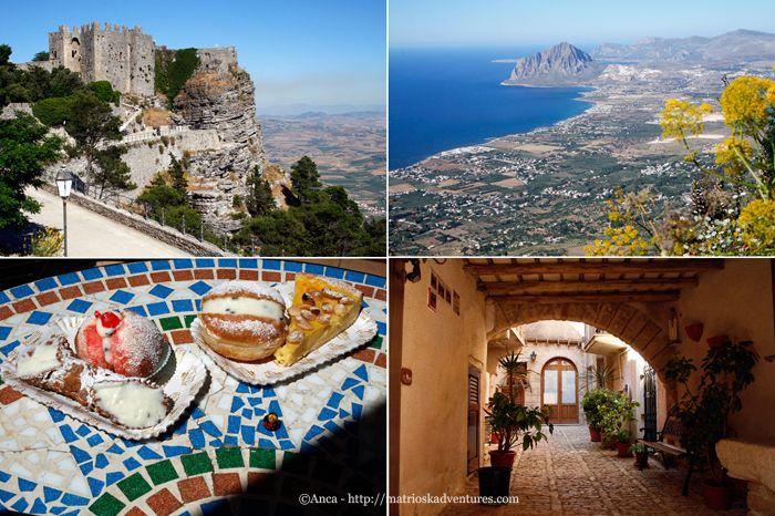 Erice Sicilia - di paesino magico, golosità pasticcere e donne forti