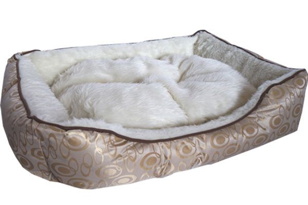 Medium Cleopatra Gold Dog Bed