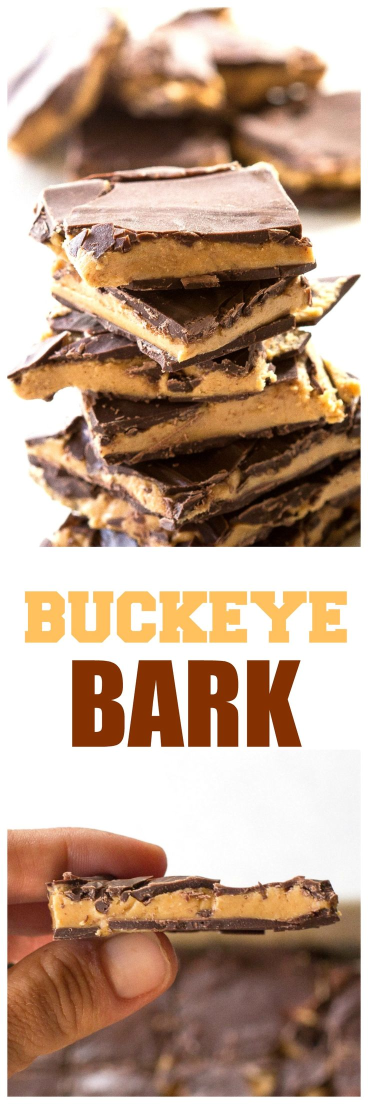 Buckeye Bark - so easy and seriously dangerous to have around. the-girl-who-ate-everything.com