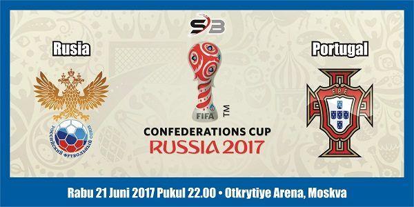 Prediksi Bola Rusia vs Portugal 21 Juni 2017