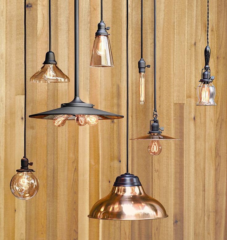 Copper Shades & Pendant Lighting | Rejuvenation