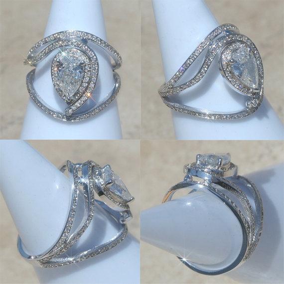 diamond ring diamond egyptian eye ring in white gold - Egyptian Wedding Rings