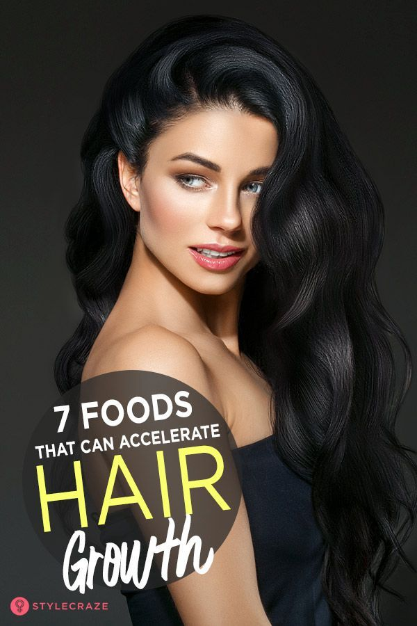 7 Meals That Can Speed up Hair Progress