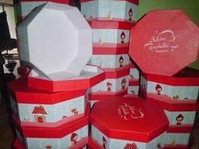 Kotak kado (Gift Box) | Box Souvenir | Hantaran | Digital Printing: Hexagonal box